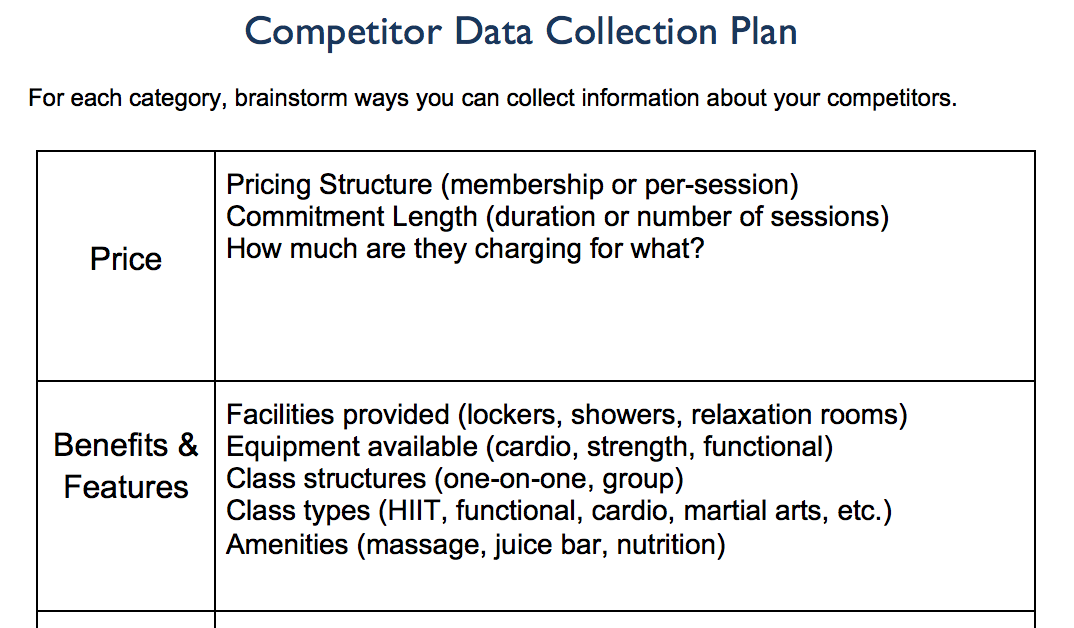 data collection plan The data collection plan is intended to describe a high-level process for collecting and maintaining digital data the data collection plan is a working document, which is expected to change over time as new project details emerge.