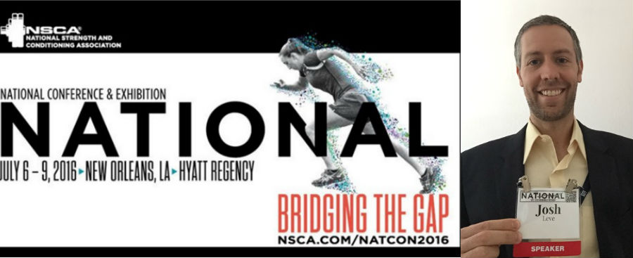 AFS Recap from the 2016 NSCA National Conference